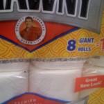 Brawny 8 rolls equivalent to 12 rolls
